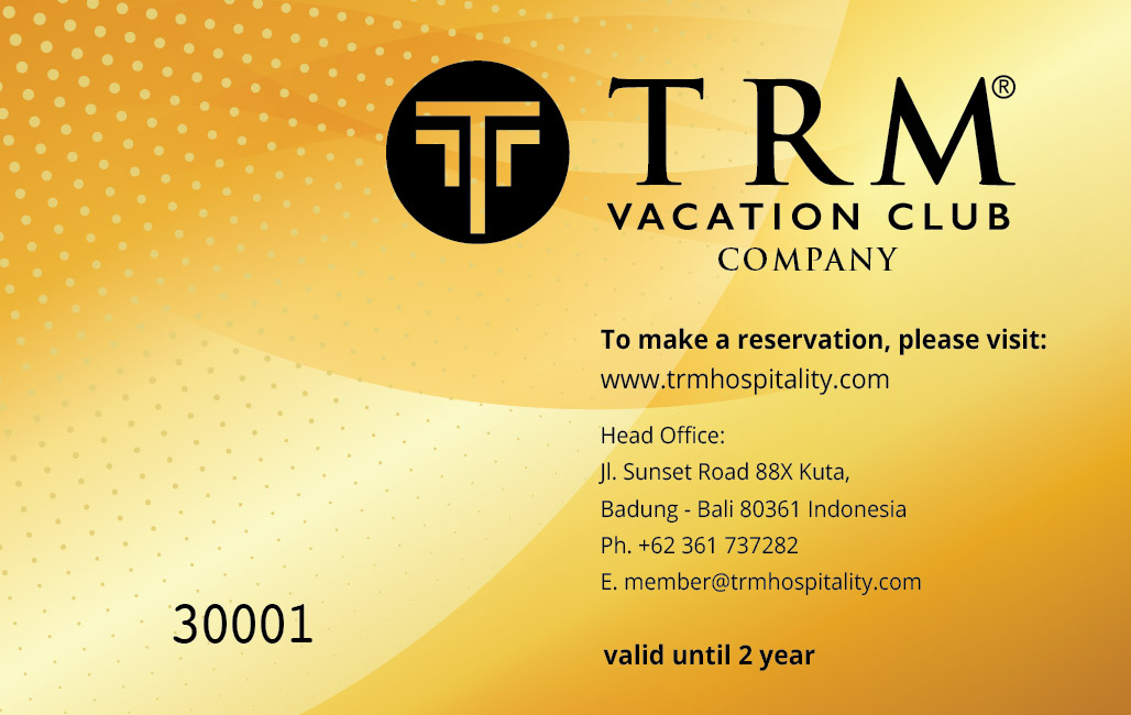 TRM Vacation Club Corporate Card