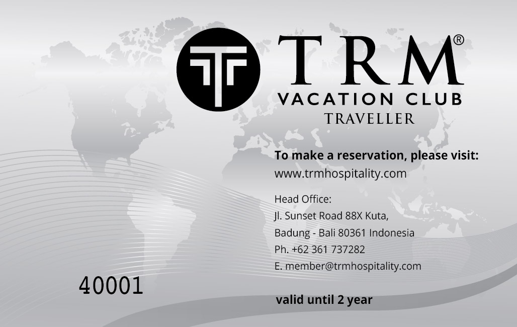 TRM Vacation Club Traveller Card