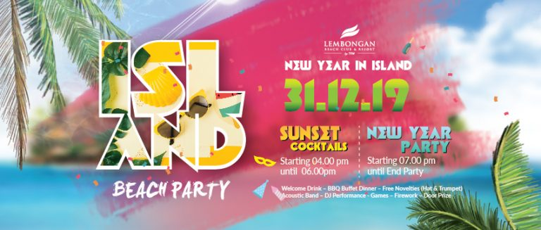 New Year's Eve Party Lembongan